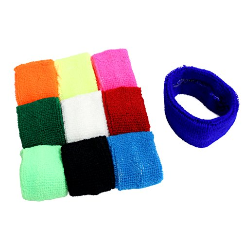 kurtzytm-10-pack-cotton-stretch-coloured-sweatbands-head-band-sports-exercise-fitness