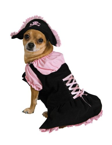 Medium - Cat & Dog Costume Pink Pirate Medium