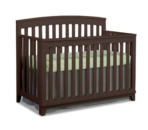 Imagio Baby Midtown Convertible Crib, Chocolate Mist - 1
