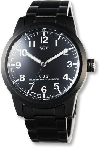 GSX (ジーエスエックス) 腕時計 AUTOMATIC オートマチック GSX602BBK メンズ