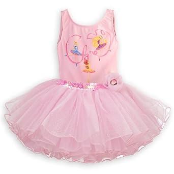 Disney Store Deluxe Disney Princess Ballet Tutu Leotard Size Small 5/6