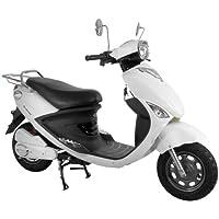 電動バイク ecolu MK ホワイト シールドバッテリー モニターモデル MK-WH-M