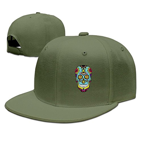 bassnectar-logo-unisex-100-cotton-forestgreen-adjustable-snapback-baseball-caps-one-size