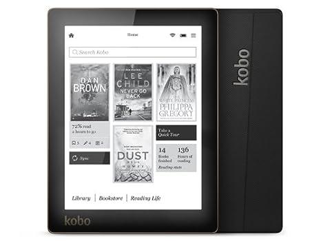 """Kobo Aura Tablette tactile 6"""" (15,24 cm) (4 Go, 1 Port USB 2.0, Noir)"""