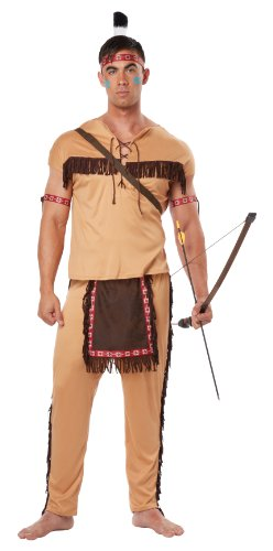 California Costumes Men's Native American Brave Adult
