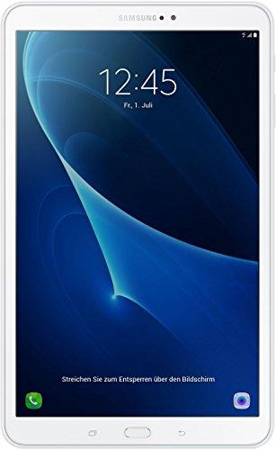 """Samsung Galaxy Tab A Tablet, 10.1"""", modello 2016, 4G/LTE, Bianco"""