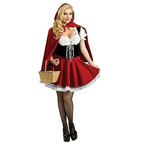 TAILUN Red Riding Hood Costume Halloween Cosplay Outfit