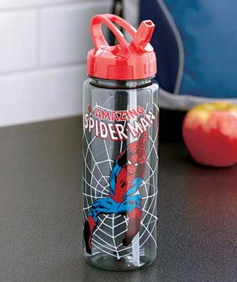 Super Hero Water Bottles (Spider-Man)