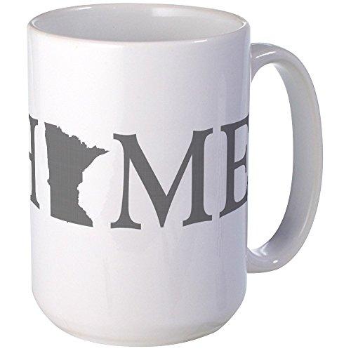 CafePress - Minnesota Home - Coffee Mug, Large 15 oz. White Coffee Cup (Minnesota Cup compare prices)
