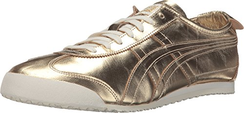 huge selection of b7697 59dc2 Onitsuka Tiger by Asics Unisex Mexico 66 Gold/Gold Sneaker Men's 6, Women's  7.5 Medium