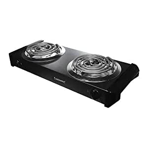 Continental Electric CE23319 Double Burner Range