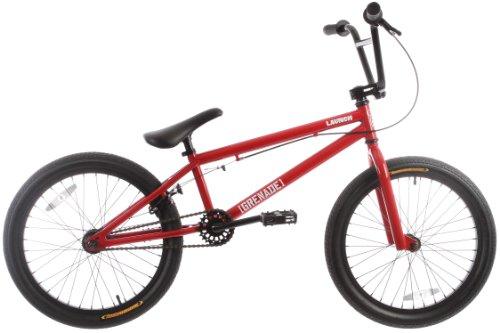 Grenade Launch Mens BMX Bike Red 20