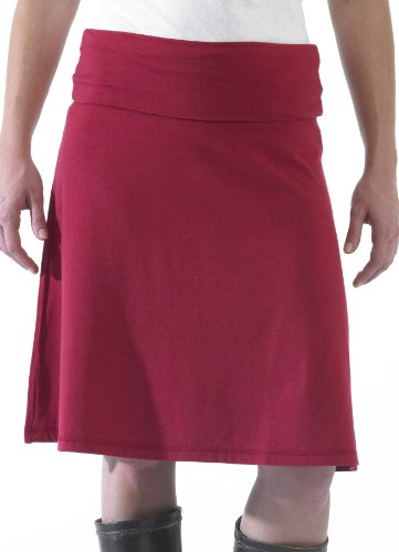 KAVU Women's Helen Of Soy Skirt,Ketchup,XX-Small