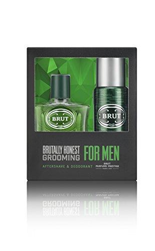 Brut, Set regalo da Uomo, include dopobarba 100 ml + deodorante spray 200 ml