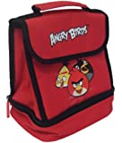 Red Angry Birds design Insulated Lunch bag