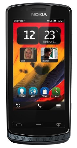 Nokia 700 Unlocked GSM Phone with Touchscreen, 5 MP Camera, Symbian Belle OS, and NFC--U.S. Warranty (Grey)