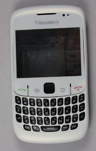 PEARL WHITE FULL HOUSING FOR BLACKBERRY 8520 (Blackberry 8520 Full Housing compare prices)