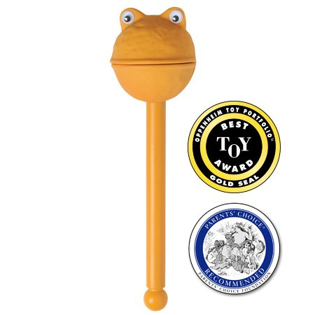 Puppet-on-a-Stick (Lex - Orange) - 1