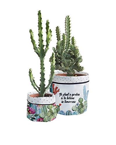 Surdic Blumentopf Cover Cactus Garden
