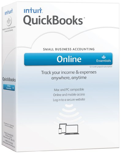 Intuit Quickbooks Online Essentials, English - Accounting Software [OLD VERSION]
