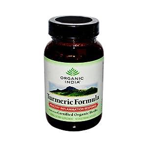 Wholesale Organic India Turmeric - 90 Vegetarian Capsules, [Health & Beauty, Homeopathic Remedies]
