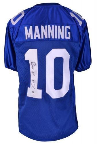 Eli Manning Autographed New York Giants Custom Jersey - Prostyle - JSA Certified - Autographed NFL Jerseys