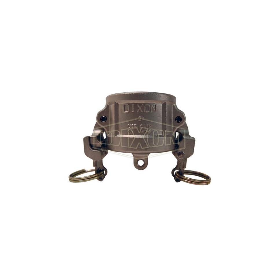 Dixon Valve RH600EZ Stainless Steel 316 EZ Boss Lock Type H Cam and Groove Fitting, Dust Cap, 6