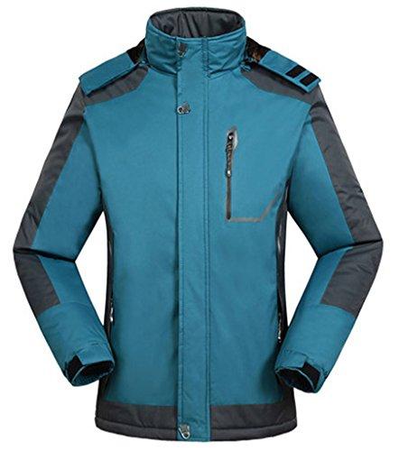 Men's Waterproof Mountain Jacket Fleece Windproof Ski