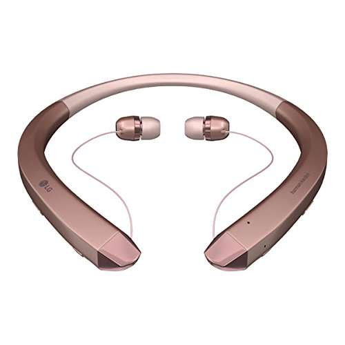 Click to buy LG Electronics Bluetooth Headset - Retail Packaging - Rose Gold - From only $79.99