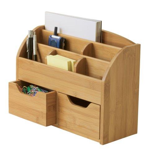 Lipper International 809 Bamboo Space Saving Desk Organizer (Space Saving Bamboo Organizer compare prices)