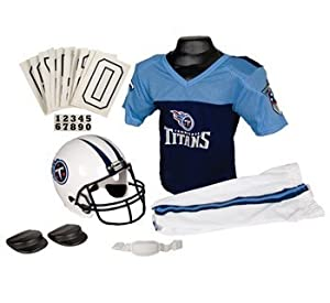 Tennessee Titans NFL Football Deluxe Uniform Set Size Small by Unknown