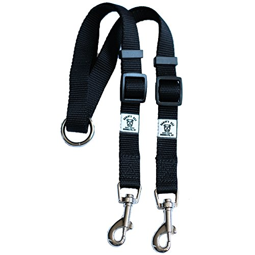 Premium Quality Tangle Free Double Dog Leash Coupler and Walker For Small, Medium & Large Dogs ... (Get Ready In The Morning Chart compare prices)