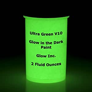 ultra green v10 glow in the dark paint 1g. Black Bedroom Furniture Sets. Home Design Ideas