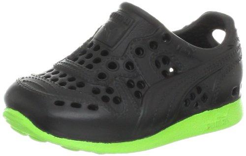 Puma Rs 200 Injex V Sneaker (Toddler/Little Kid/Big Kid),Black/Jasmine Green,9 M Us Toddler front-1001442