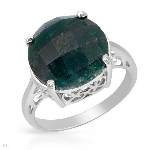 Ring With Genuine Ruby zoisite Well Made in 925 Sterling silver (Size 10.5)