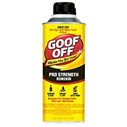 Goof Off FG653 Professional Strength Remover, Pourable 16-Ounce