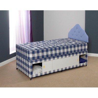 Paris Divan Bed Size: King, Storage: With 2 drawer