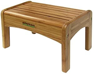 Growing Up Green Wood Step Stool