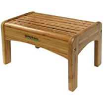 Natural Wood Step Stool