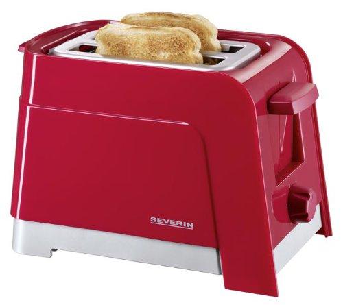 oncom gorenk severin at 2599 automatik toaster rot silber. Black Bedroom Furniture Sets. Home Design Ideas