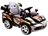 Star Car 6v Black (Remote Controlled) - Battery Operated