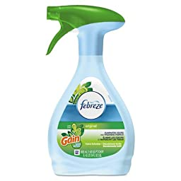 27 oz. Febreze Fabric Refresher Odor Eliminator, Gain Original (5 Bottles) - BMC-PGC 47804EA