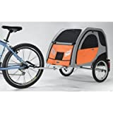 Comfort Wagon Pet Bike Trailer Size: Large
