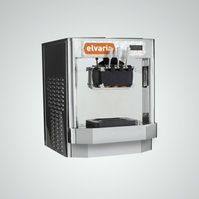 Elvaria 515CT Countertop Soft Serve Ice Cream / Frozen Yogurt Machine by Elvaria