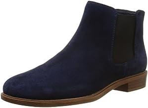 Clarks Taylor Shine, Boots femme - Bleu (Navy), 39 EU (5.5 UK)