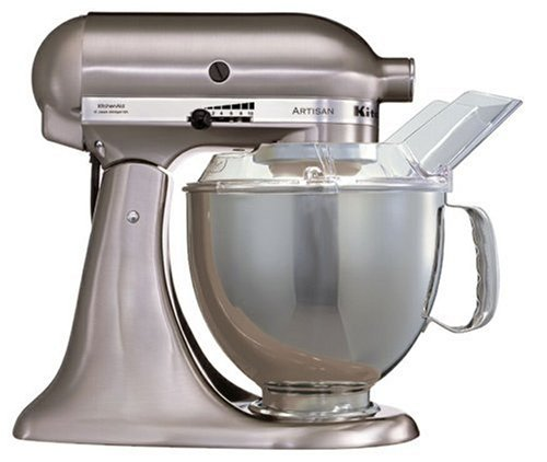 KitchenAid Artisan KSM150BNK Stand Mixer Brushed Nickel