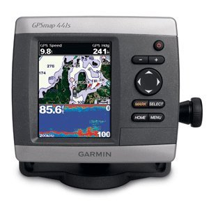 Garmin GPSMAP 441s 4-Inch Waterproof Marine GPS and Chartplotter
