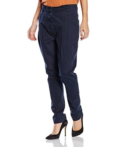 RARE LONDON Pantalone High Waisted Plain Pocket
