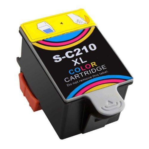 Druckerpatrone für Samsung CJX-1000 CJX-1050W CJX-2000FW Patronen kompatibel zu INK-C 210 INK-C210