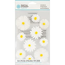 Martha Stewart Crafts Stickers, Dimensional Daisy Glossary